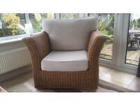Lg wicker chair