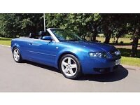 AUDI A4 CABRIOLET 1.8 T 2DR FULL SERVICE HISTORY + TIMING + WATER PUMP CHANGE + LONG MOT