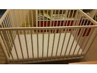 IKEA baby cot for sale