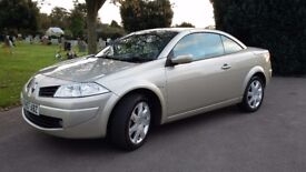 Renault Megane Convertible - Low mileage - Full leather interior
