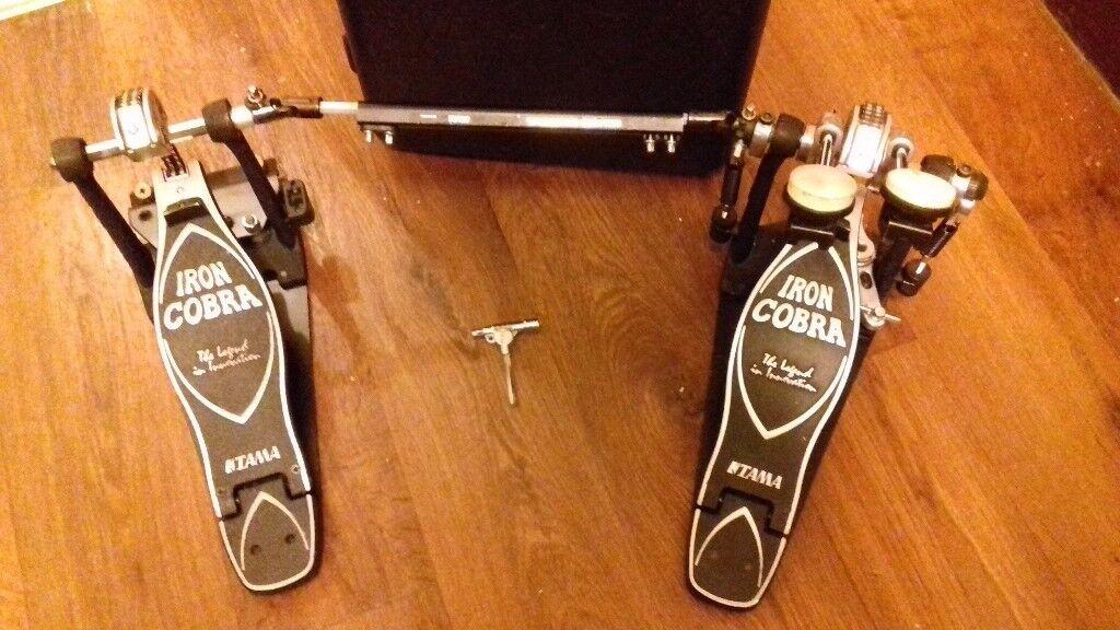 Tama Iron cobra Double Pedal 900 Series, Power Glide,Top Range, Was £365  Bagain! | in Ilford, London | Gumtree