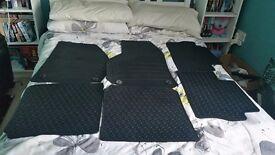 Car zafira rubber matts