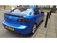 Mazda 3 Sport Saloon 4dr BLUE
