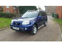 2003 NISSAN X-TRAIL 2.5 SPORT X - LADY OWNER - STUNNING EXAMPLE - RECENT INVOICES TOTALLING £400