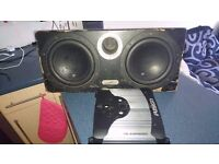 In phaze subs and amp