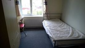 Double sized, furnished room in shared house. Full-time employed only, utility bills & BB inc.