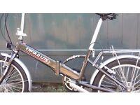 Enfold lite folding bike, as new