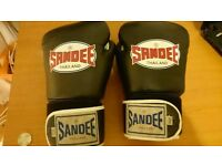 Sandee Thailand Boxing Gloves Real Leather 16Oz