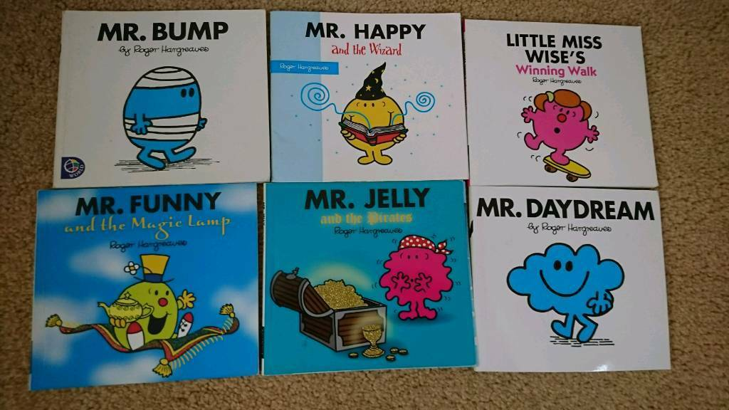 Small Mr Men bookset
