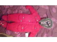good condition all in one coat from mothercare