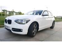2013 63 BMW 116D SPORT 2 LITRE TWIN TURBO DIESEL ROAD TAX ONLY £30 A YEAR MOT PLUS WARRANTY