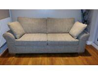 NEXT Garda Large Beige 3 Seater Sofa in Showroom Condition