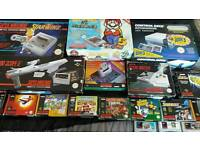 Wanted old video games and consoles