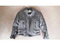 Akito Mercury Plus Leather Motorcycle Jacket