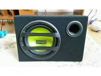Fusion AB1121 900W Active Subwoofer for car