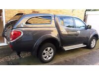 Mitsubishi L200 Animal DI-D D/C (NICE CONDITION) 2009 Chrome trims, Leather seats, Satnav, NO VAT!