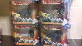 Primeval Figures - Complete Figure Collection 21 Boxes - BNIB