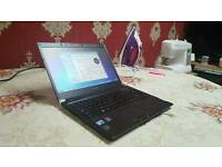 ULTRA PORTABLE TOP SPEC TOSHIBA LAPTOP INTEL i5 4GB 500GB VERY FAST LIGHT CAN DELIVER