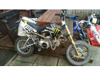 Off road Pit bike 125