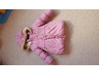 Bundle of 4 girls jackets size 18-24/ 2-3y