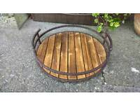 Rustic Wooden drinks tray