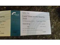 Frank Turner @ Usher Hall - 2 x Standing Tickets