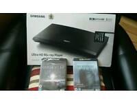 New Samsung 4k blu ray player