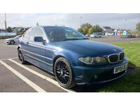BMW 325CI SE AUTO BLUE, COUPE, PETROL, 190BHP, 1 YEAR M.O.T. QUICK SALE 1850!!!!