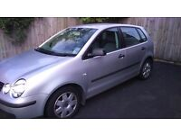 Volkswagen Polo 1.4 2005 Silver £800 ono 110,600 miles, Excellent condition, full service history