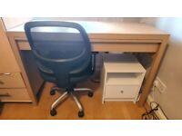 Desk+ Chair+ Cabinet