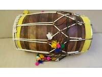Dhol with case