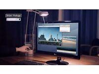 LG E2250V 22 Inch LED Monitor, Full HD 1920x1080p, Anti Glare, 3m HDMI cable included