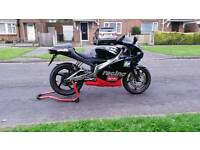Aprilia rs 125 2000 model 12 month mot