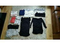 FANTASTIC BUNDLE OF MATERNITY CLOTHES SIZES 10 & 12