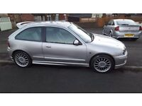 MG ZR *12 months MOT* great deal, 1st to see will buy!