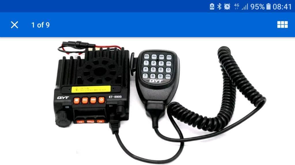 Amateur Radio  Ham Radio Dual Band Transceiver  | in Motherwell, North  Lanarkshire | Gumtree