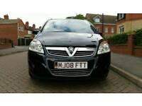 Vauxhall Zafira 1.9 CDTi Design 5dr7 Seats. Drives great.2008 (08 reg), MPV