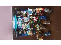 Skylanders Imaginators wii u Starter pack and figures