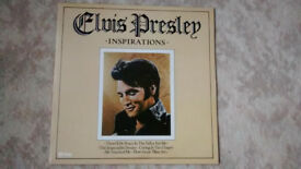 Elvis Presley - Inspirations LP pre-owned