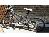 Bicycle Excel Prodigy 7005 fluted alloy with disk brakes