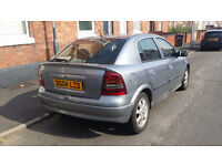 04 Vauxhall Astra 1.6 i Active 5dr long mot drive well
