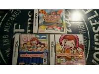 Ds cooking mama games boxed