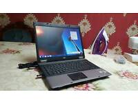 Hp 6560b large windows 7 laptop pc 4GB 150gb-320gb OFFICE can deliver