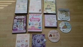 Card making CD Rom's and a DVD tutorial inc Crafter's Companion etc