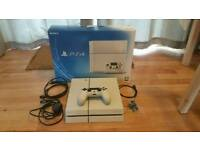 PS4 with original box, controller & cables