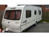 Bailey pageant provence 5 berth touring caravan