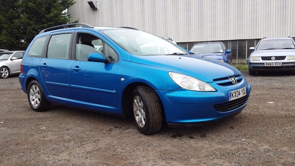 Peugeot 307 SW hdi 2.0 turbo diesel MOT April