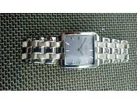As New Mens Next Quartz Two Tone s/s Watch
