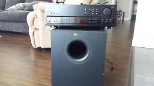Pioneer receiver and Nuance sub