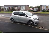 Peugeot 108 Allure 1.2 petrol with 0£ road tax